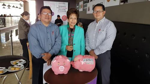 Colaboradores de la cadena de restaurantes se unieron a la causa. (Foto: cortesía Sushi Itto)