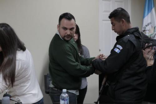Banny Zambrano fue condenado a 36 años de prisión por la muerte de su esposa Mitzie Alejandra Sánchez Makepeace. (Foto: Alejandro Balán/Soy502)