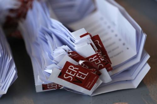 En total se han emitido cerca de 6.6 millones de votos. (Foto: AFP)