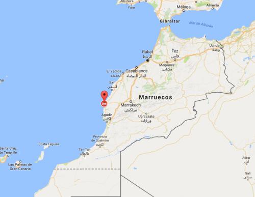 Región de Esauira donde sucedieron los hechos. (Foto: Google)