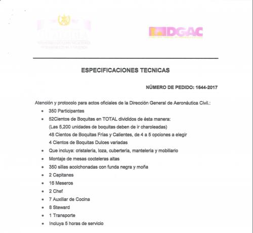 Estas son las especificaciones de la DGAC para el evento. (Foto: captura Soy502)
