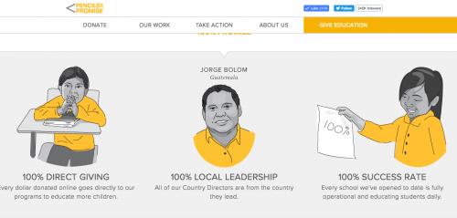 Pencils of Promise es una organización mundial. (Foto: captura de pantalla)