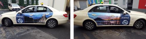 Ejemplo de imagen en taxis. (Foto: Inguat)