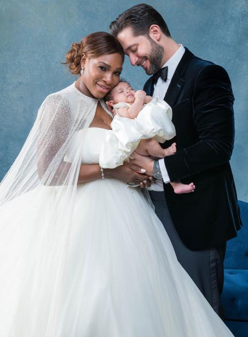 El bello retrato de familia. (Foto: Vogue)