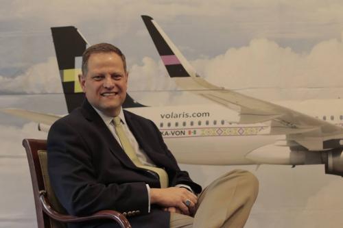 Enrique Beltranena, es el director general de Volaris. (Foto: Alejandro Balán/Soy502)