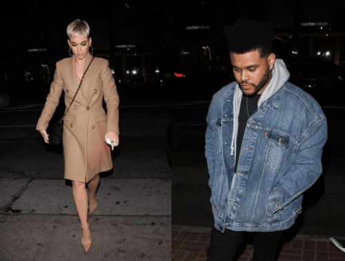 Katy Perry y The Weeknd fueron vistos juntos. (Foto: TKM)