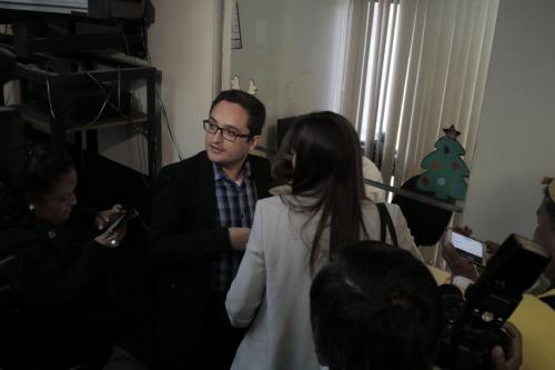 Juan Francisco Sandoval, jefe de la FECI, fue quien presentó la solicitud de antejuicio. (Foto: Alejandro Balán/Soy502)