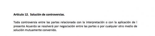 Artículo 12 del mandato de CICIG. (Foto: Soy502)