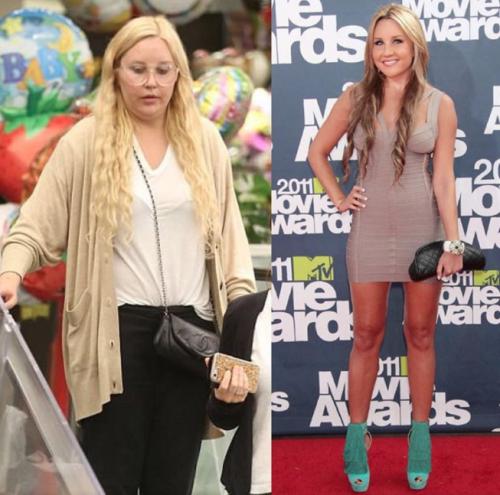 Amanda fue vista en un supermercado con varias libras de más. (Foto: archivo)