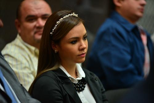 Alejandra Reyes, exconviviente de Byron Lima. (Foto: Archivo/Soy502)