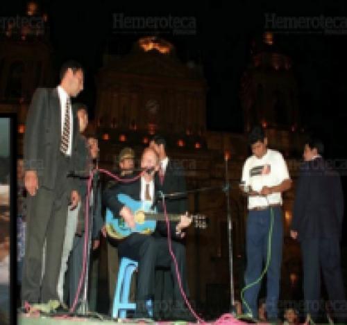 Byron Lima acompaña a Álvaro Arzú. (Foto: MP).