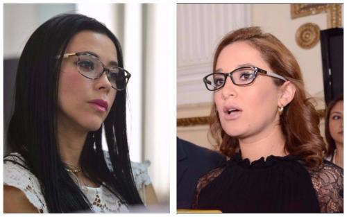 Maldonado (izq.) fue diputada por Lider y Carrillo (dcha.) llegó al Congreso representando al PP. (Foto: Soy502)