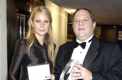 Gwyneth Paltrow y Harvey Ewinstein. (Foto: Infobae)