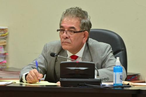 Miguel Ángel Gálvez es el juez a cargo del caso La Línea. (Foto: Jesús Alfonso/Soy502).