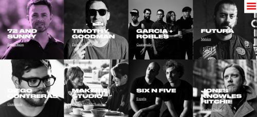 Artistas que participarán en los Talleres Itch. (Foto: oficial)
