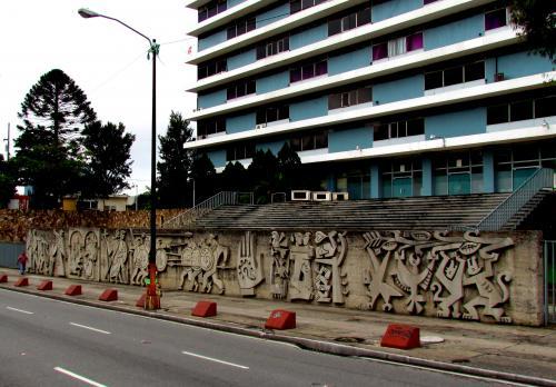 La obra El Mural de Nacionalidad Guatemalteca fue inaugurada en 1959. (Foto: Municipalidad de Guatemala)