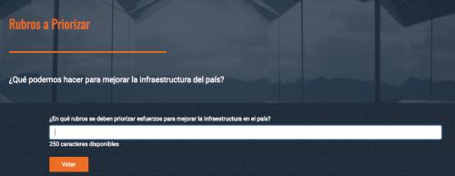 Plataforma para que la ciudadanía opine sobre la infraestructura. (Foto: Soy502)