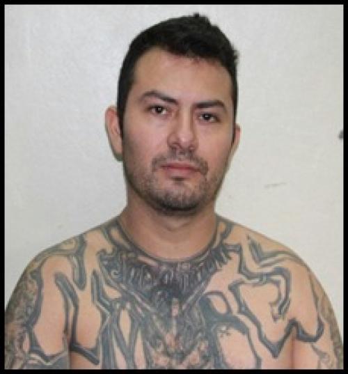 "Ángel Reyes alias ""White"" fue capturado por la PNC. (Foto: PNC)."
