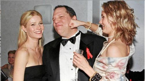 Cameron Diaz juega a pegarle a Harvey Weinstein en una fiesta en 1999. ¿Le querría pegar de verdad? (Foto: Alex J. Berliner/Shutterstock)
