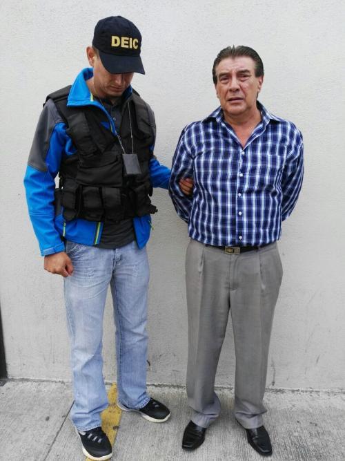 El director del Liceo Brasileiro fue detenido por un caso de abuso sexual en contra de una estudiante. (Foto: PNC)