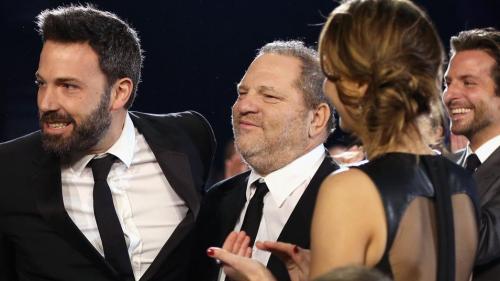 Harvey Weinstein con Ben Affleck y otros famosos, varios años antes de que estallara el escándalo. (Foto: AFP)