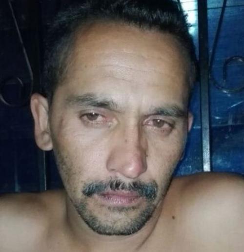 El sentenciado en una imagen de archivo del día de su captura. (Foto: MinGob).
