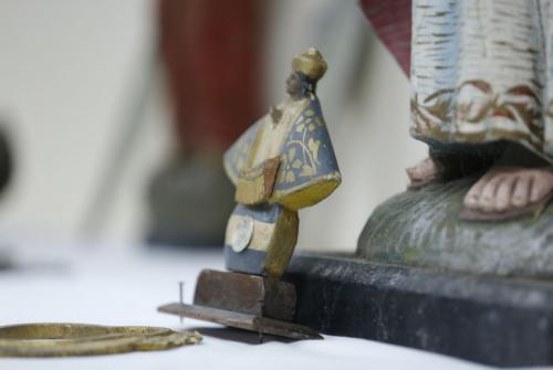 Las piezas fueron decomisadas hace 19 años en Guatemala. (Foto: Ministerio de Cultura y Deportes)