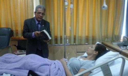 Roxana Baldetti, en un hospital, escuchó del juez Miguel Ángel Gálvez por qué el MP solicitó la captura de ella. (Foto: archivo/Soy502).