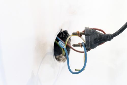 El cableado interno en malas condiciones es un foco de alerta. (Foto: Shutterstock)