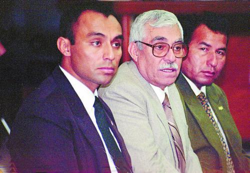 Los tres militares acusados por el asesinato del obispo Juan Gerardi están muertos hoy: Byron Lima Oliva, Byron Disrael Lima Estrada y Obdulio Villanueva. (Foto: Archivo histórico/Nuestro Diario)