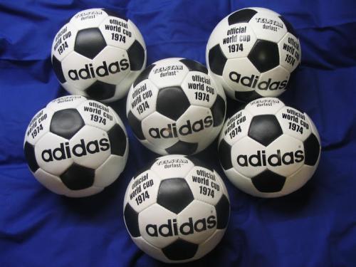 Así fue el balón utilizado durante el Mundial de Alemania 1974. (Imagen: Footy Headlines)