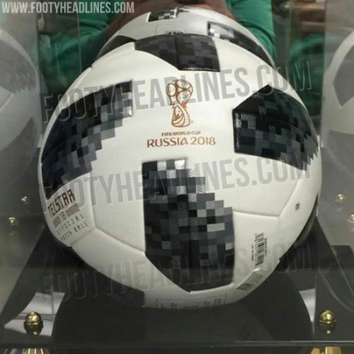 Este sería el balón oficial para el Mundial de Rusia 2018. (Imagen: Footy Headlines)