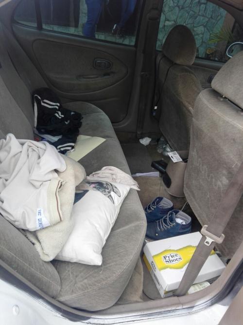 Se desconoce quien es el propietario del vehículo que fue localizado en la zona 11. (Foto: Facebook/Amilcar Montejo)
