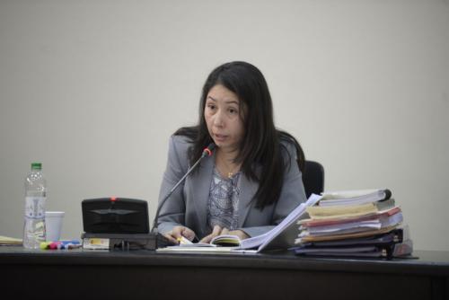 La jueza Aifán argumentó durante varias horas su resolución. (Foto: Archivo/Soy502)