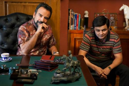 Arturo Castro es David Rodríguez, hijo de Gilberto Rodríguez empresario del famoso Cartel de Cali. (Foto: Netflix)