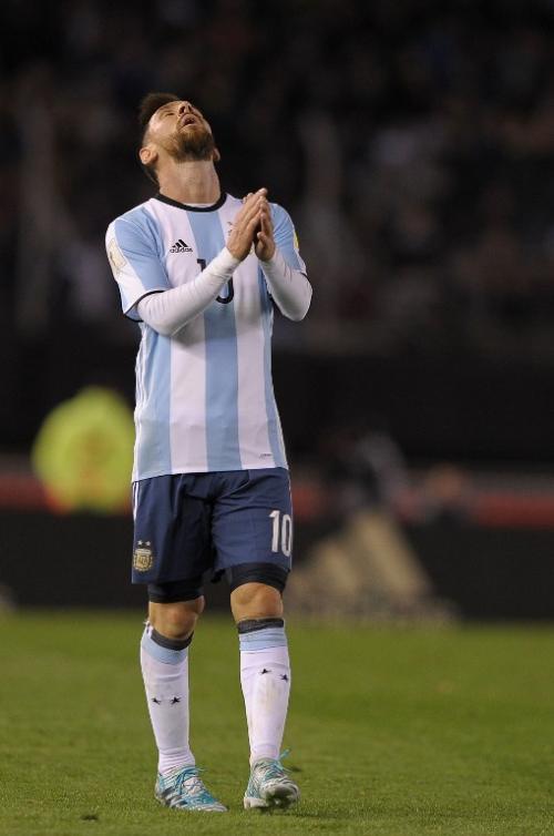 Messi lamentó el empate ante Venezuela. (Foto: AFP)