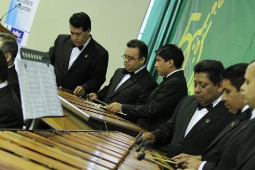 Foto: Marimba de Concierto del Palacio nacional de la Cultura