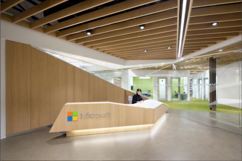 Las oficinas del Excellence Center de Microsoft Canadá, ubicadas en Vancouver. (Foto: clivewilkinson.com)