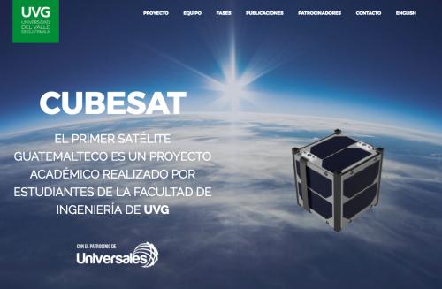 El CubeSat de la UVG. (Foto: UVG)