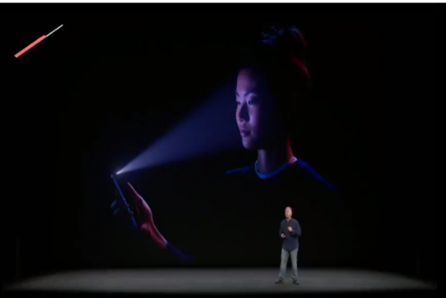 El reconocimiento facial es la manera en la cual se podrá desbloquear la pantalla. (Foto: YouTube)