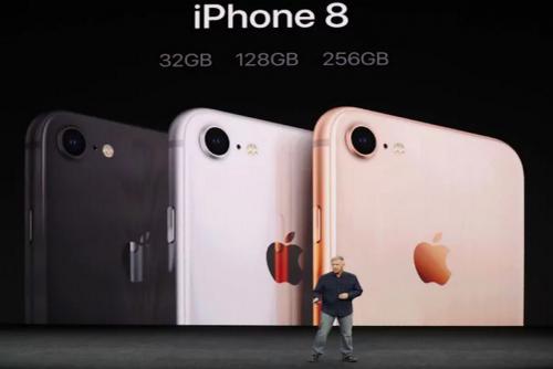 Colores del nuevo iPhone 8. (Foto: YouTube)