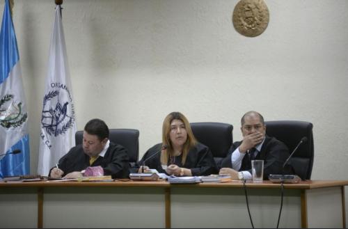 La magistrada Anabella Cardona fue designada por la Corte Suprema de Justicia (CSJ) para conocer el antejuicio contra Villate. (Foto: Archivo/Soy502)