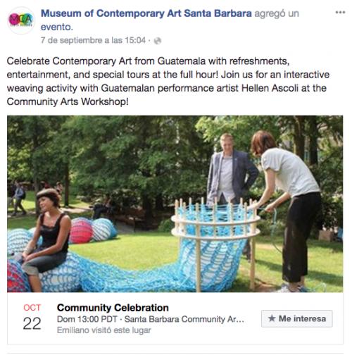 Talleres de artesanías y tours interactivos son parte de los eventos. (Foto: captura de pantalla)