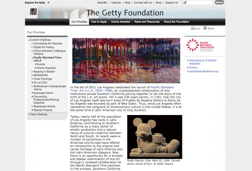 Fundación Getty. (Foto: captura de pantalla)