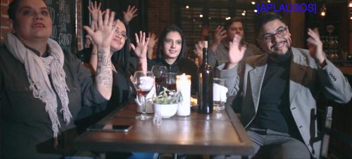 Actores sordos participaron en el video. (Foto: Captura de pantalla)