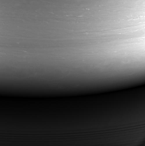 Última fotografía enviada por Cassini (Foto: nasa.gov)