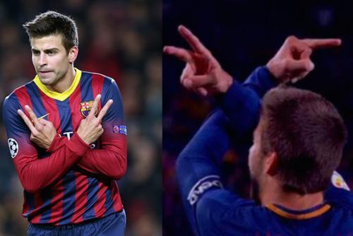 La diferencia en el saludo de Piqué fue el detonante para que muchos creyeran que habían problemas en la pareja (Foto: 3D Juegos, YouTube)