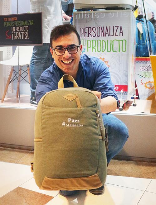 El talento de Francisco Páez se une a la promoción especial. (Foto: cortesía Totto)