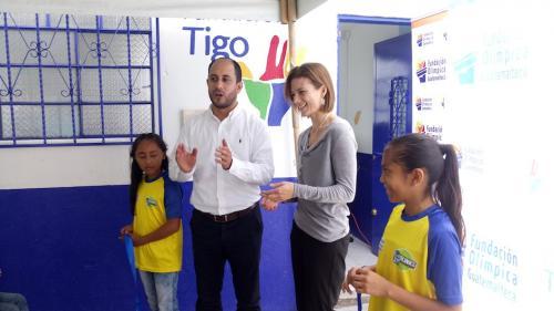 Los niños de El Limón zona 12 podrán consultar internet en el Aula Digital. (Foto: Sara Melini/Nuestro Diario)