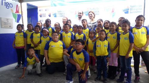 Fundación Tigo y FUNOG unen sus fuerzas por la educación. (Foto: Sara Melini/Nuestro Diario)